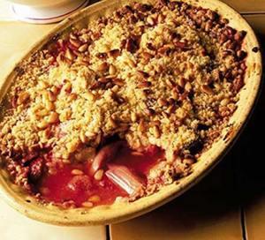 Strawberry & rhubarb recipe_bbc good food