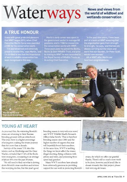 Waterlife-Issue 184- April - June 2013- Waterways-News